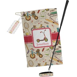 Vintage Sports Golf Towel Gift Set (Personalized)