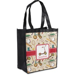Vintage Sports Grocery Bag (Personalized)