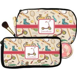 Vintage Sports Makeup / Cosmetic Bag (Personalized)