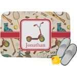 Vintage Sports Memory Foam Bath Mat (Personalized)
