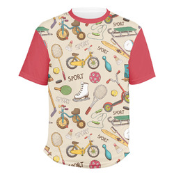 Vintage Sports Men's Crew T-Shirt (Personalized)