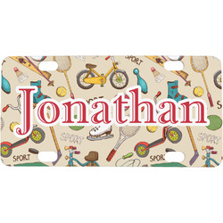Vintage Sports Mini / Bicycle License Plate (Personalized)