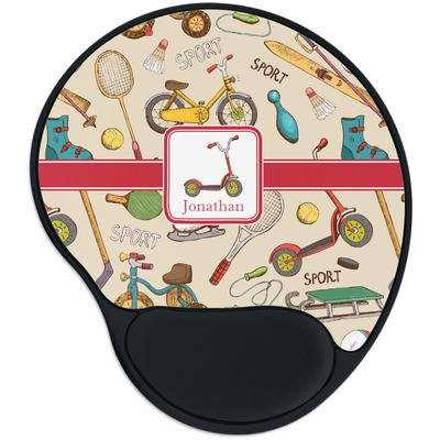 Vintage Sports Mouse Pad with Wrist Support