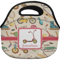 Vintage Sports Lunch Bag (Personalized)