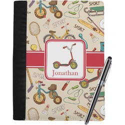 Vintage Sports Notebook Padfolio (Personalized)