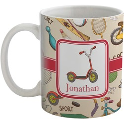 Vintage Sports Coffee Mug (Personalized)