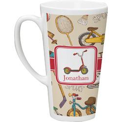 Vintage Sports Latte Mug (Personalized)