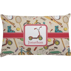 Vintage Sports Pillow Case (Personalized)