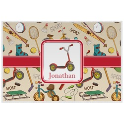 Vintage Sports Placemat (Laminated) (Personalized)