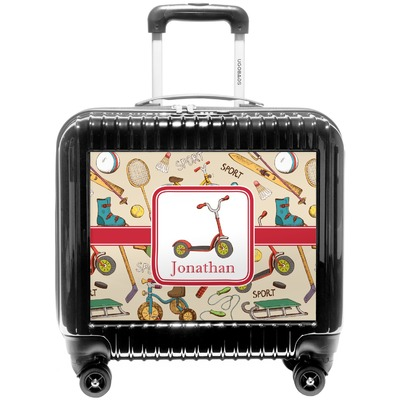 Vintage Sports Pilot / Flight Suitcase (Personalized)