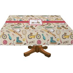 Vintage Sports Tablecloth (Personalized)