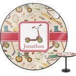 Vintage Sports Round Table (Personalized)