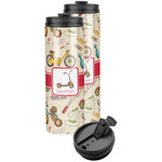 Vintage Sports Stainless Steel Skinny Tumbler (Personalized)