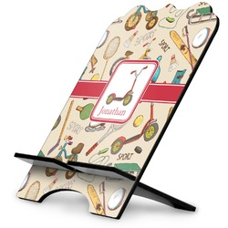 Vintage Sports Stylized Tablet Stand (Personalized)