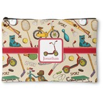 Vintage Sports Zipper Pouch (Personalized)