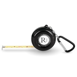 Musical Notes Pocket Tape Measure - 6 Ft w/ Carabiner Clip (Personalized)