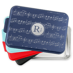 Musical Notes Aluminum Baking Pan with Lid (Personalized)