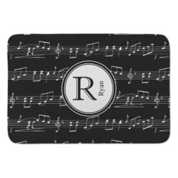Musical Notes Anti-Fatigue Kitchen Mat (Personalized)