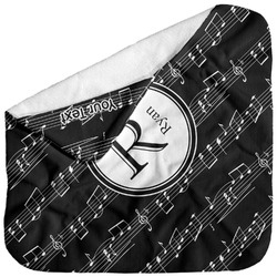 Musical Notes Baby Hooded Towel (Personalized)