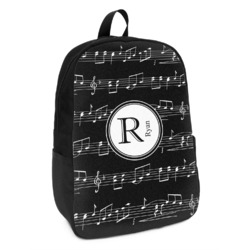 Musical Notes Kids Backpack (Personalized)