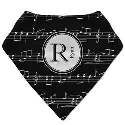 Musical Notes Bandana Bib (Personalized)