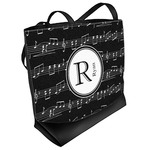 Musical Notes Beach Tote Bag (Personalized)