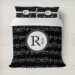 Musical Notes Duvet Covers (Personalized)