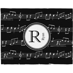Musical Notes Placemat (Fabric) (Personalized)