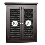 Musical Notes Cabinet Decal - Custom Size (Personalized)