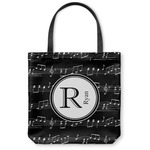 Musical Notes Canvas Tote Bag (Personalized)