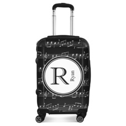 Musical Notes Suitcase (Personalized)