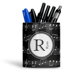 Musical Notes Ceramic Pen Holder