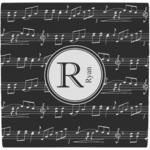 Musical Notes Ceramic Tile Hot Pad (Personalized)