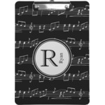 Musical Notes Clipboard (Personalized)