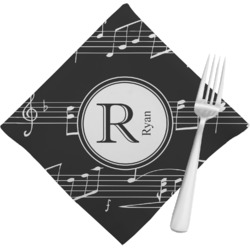 Musical Notes Napkins (Set of 4) (Personalized)