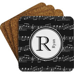 Musical Notes Coaster Set (Personalized)
