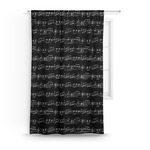 Musical Notes Curtain (Personalized)