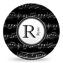 Musical Notes Microwave Safe Plastic Plate - Composite Polymer (Personalized)  sc 1 st  YouCustomizeIt & Personalized Microwave Safe Plastic Plates - YouCustomizeIt
