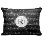 """Musical Notes Decorative Baby Pillowcase - 16""""x12"""" (Personalized)"""