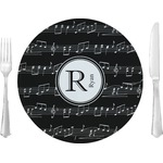 Musical Notes Dinner Plate (Personalized)