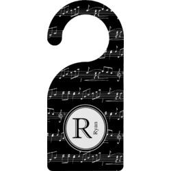 Musical Notes Door Hanger (Personalized)
