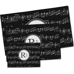 Musical Notes Door Mat (Personalized)