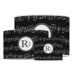 Musical Notes Drum Lamp Shade (Personalized)