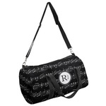 Musical Notes Duffel Bag (Personalized)