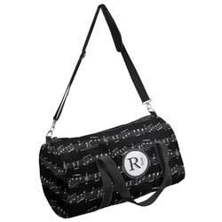 Musical Notes Duffel Bag - Multiple Sizes (Personalized)