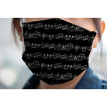 Musical Notes Face Mask Cover (Personalized)