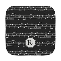Musical Notes Face Towel (Personalized)