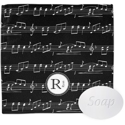Musical Notes Washcloth (Personalized)