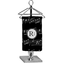 Musical Notes Finger Tip Towel - Full Print (Personalized)