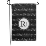 Musical Notes Garden Flag - Single or Double Sided (Personalized)